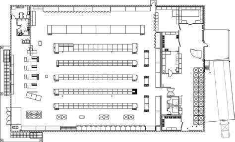 floor plan of a store real estate save a lot