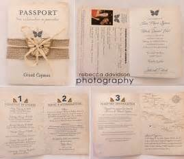 Wedding Passport Template by Passport Wedding Invitation Designs