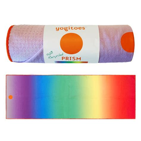 Skidless Mat Towel by Yogitoes Skidless Mat Towel Prism