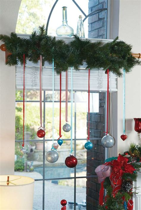 hanging ornaments in window 7 festive decorations to hang in your windows for the
