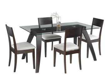 modena table 4 chairs dining room furniture in calgary