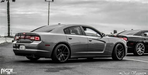car dodge charger  niche sport series targa  wheels california wheels