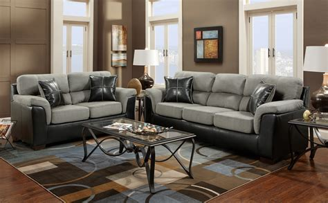 living room with two loveseats roundhill furniture