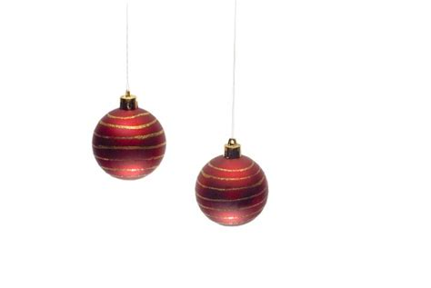 photo of hanging ornaments free christmas images