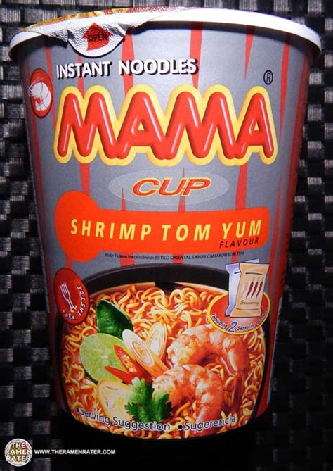 Mie Maggie Tom Yam re review instant noodles cup shrimp tom yum the