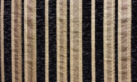 black chenille upholstery fabric chenille black stripe upholstery drapery fabric by the