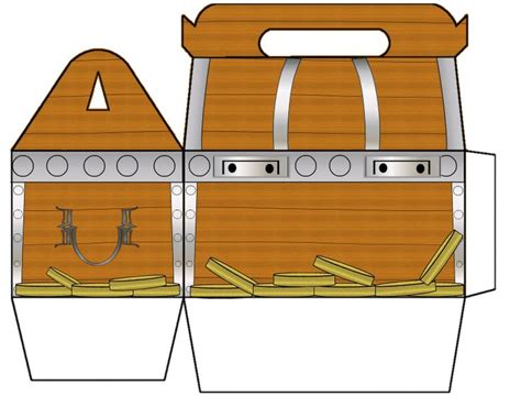 treasure chest coloring page printable on treasure chest