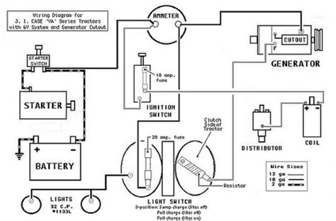 tractor wiring diagrams dc get free image about