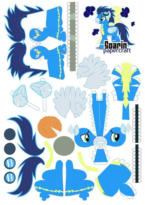 Deviantart Papercraft - soarin papercraft by kna on deviantart papercraft