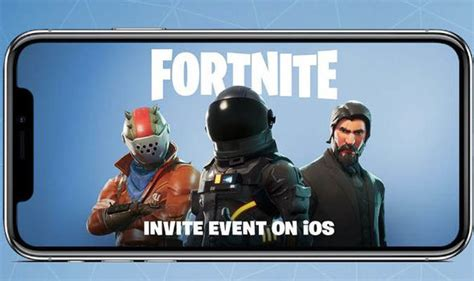 fortnite mobile   fortnite coming  ios