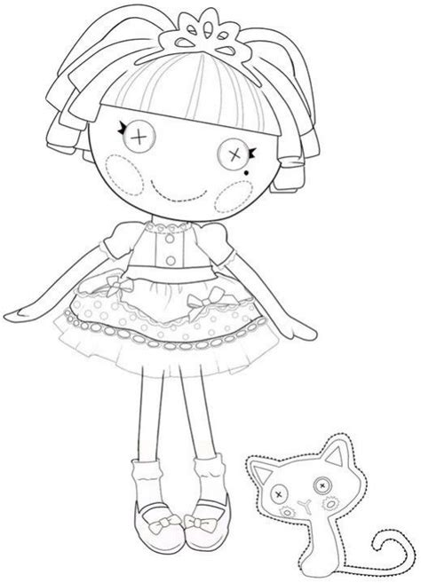 princess lalaloopsy coloring pages the best lalaloopsy dolls coloring pages coloring