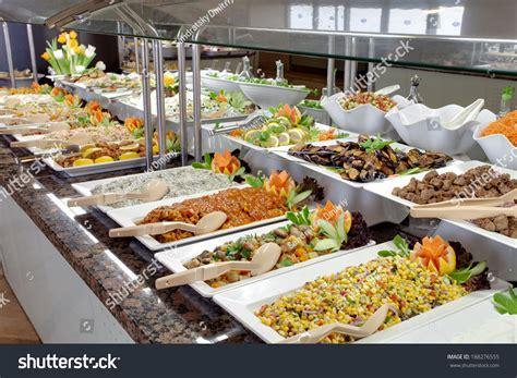 food buffet restaurant stock photo 188276555 shutterstock