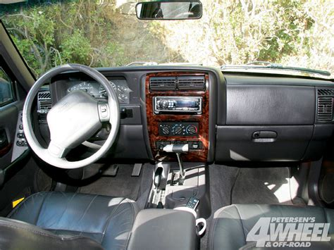 jeep interior jeep cherokee review and photos