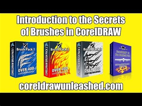 The Secret Of Coreldraw Madcoms introduction to the secrets of brushes in coreldraw