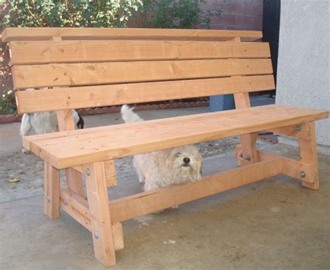 build a simple bench simple garden bench seat made by heriberto