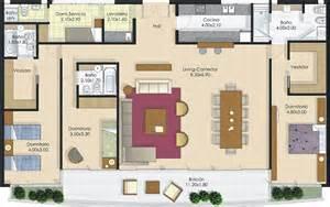 plano de casa de 160 metros cuadrados planos de casas