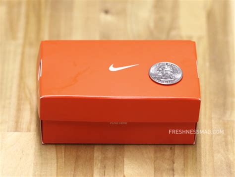 Shoe Gift Cards - nike mini shoe box for gift card freshness mag