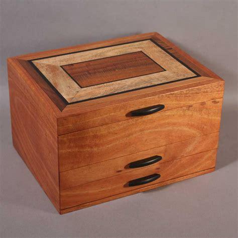 Box Jewelry Drawer koa mango jewelry boxes