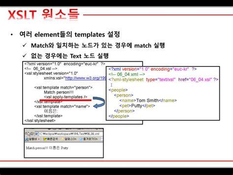 xslt templates ppt xml xslt powerpoint presentation id 2384448