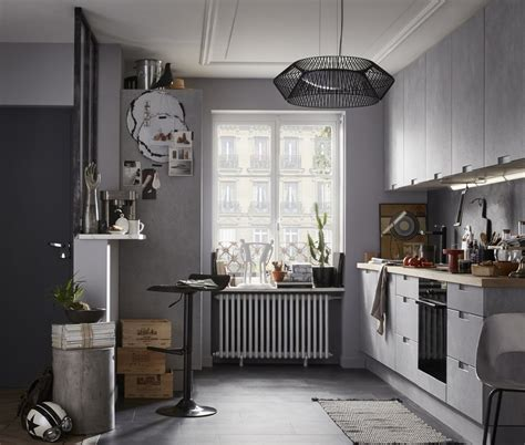 cuisine leroy merlin grise relooker sa cuisine photos et id 233 es d 233 co travauxlib