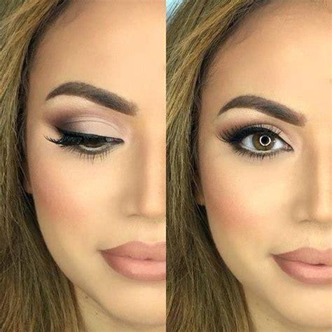 Hochzeit Make Up by Braune Augen Schminken Beispiele 1 4 Make Up