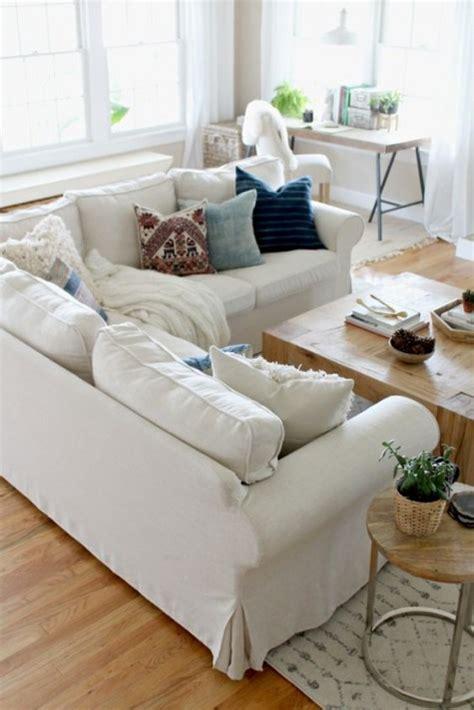 ikea sectional ektorp sofa white 26 ikea s ektorp sofa ideas to try comfydwelling