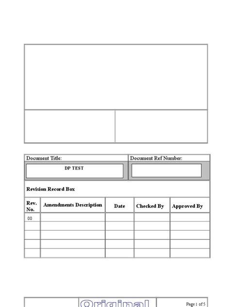 method statement for Dye Penetrant Test for storage tanks