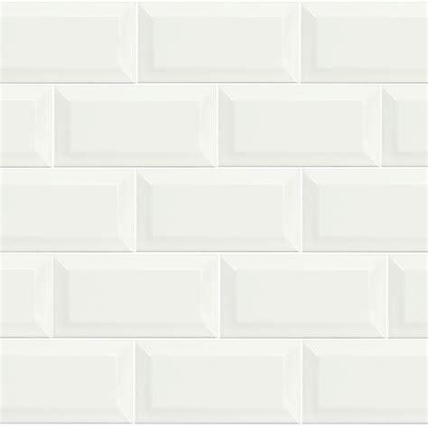 Metro white 10cm x 20cm wall tile fylde tiles