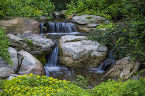 aquascape st charles waterfall created by aquascape inc in st charles il