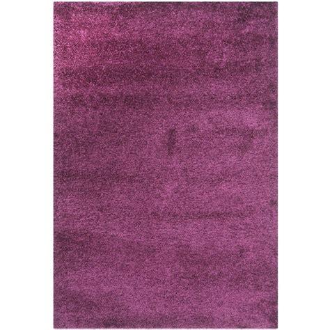 rugs california safavieh california shag purple 11 ft x 15 ft area rug sg151 7373 1115 the home depot