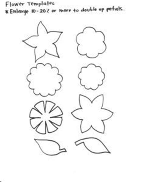 1000 Images About Handmade For Ryleeroo On Pinterest Felt Flower Template Felt Flowers And Felt Shapes Templates
