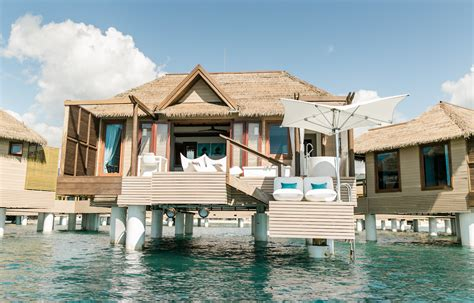 sandals overwater bungalows jamaica jamaica s newest overwater bungalows come with the bathtub