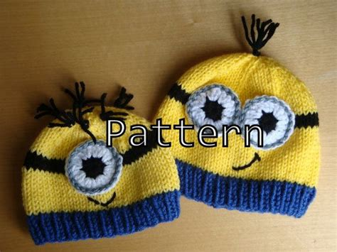 free knitting patterns minions 1000 images about knitting on minion crochet