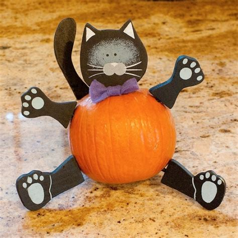 How To Decorate A Pumpkin by Animal Pumpkin Without Carving Ideas Arts And