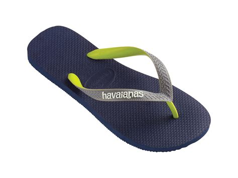 havanas slippers havaianas flip flops havaianas top mix navy blue grey