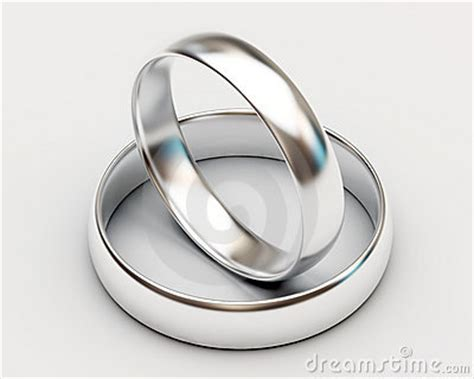 Wedding Rings No Background by Platinum Wedding Rings On White Background Royalty Free