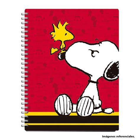 yasumi 4 cuaderno de cuaderno anillado a4 160 hojas cuaderno snoopy cuadernos anillados cuadernos y blocks escolar