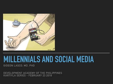 thesis about social media in the philippines talk millennials and social media