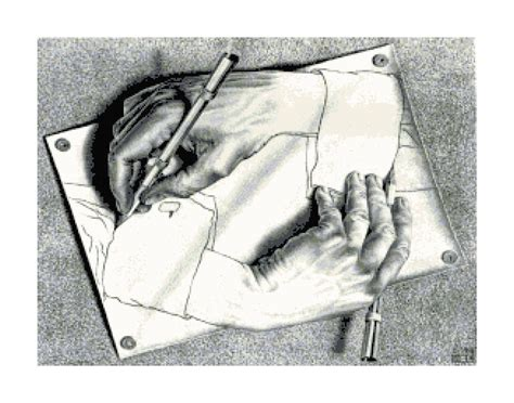 C M Sketches by M C Escher Drawing Cross Stitch Pattern Ebay