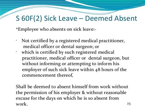 sick leave policy template certificate for sick leave certification