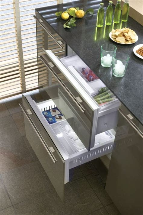 sub zero freezer drawers with ice maker sub zero 700bci 27 inch built in double drawer