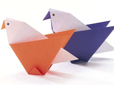 Folded Paper Craft - origami crafts origami craft ideas origami paper