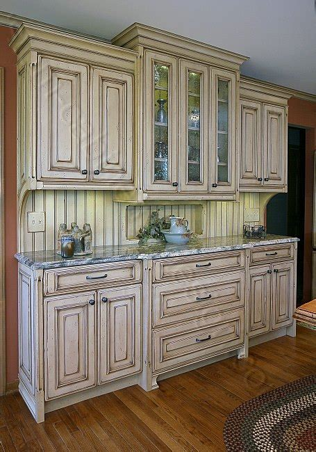 Distressed Kitchen Cabinets Custom Made Cabinets And