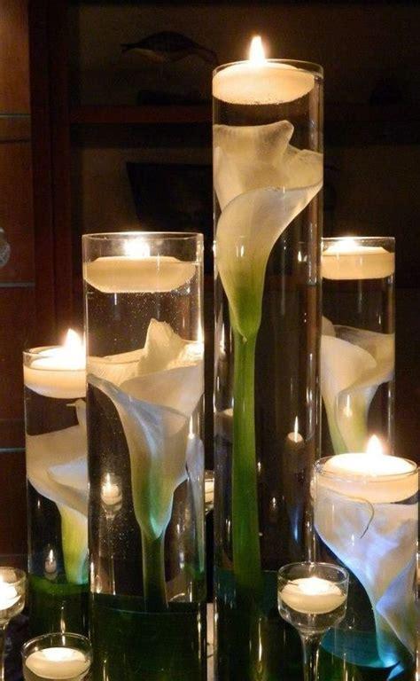glass cylinder wedding centerpiece ideas   puff
