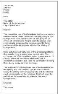 sle letters to the editor formal letter sles