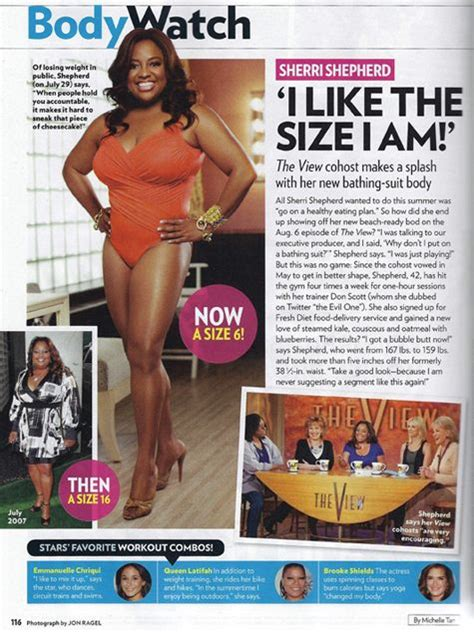 How Did Shed All That Weight by How Did Lose Weight Sherri Shepherd S Weight