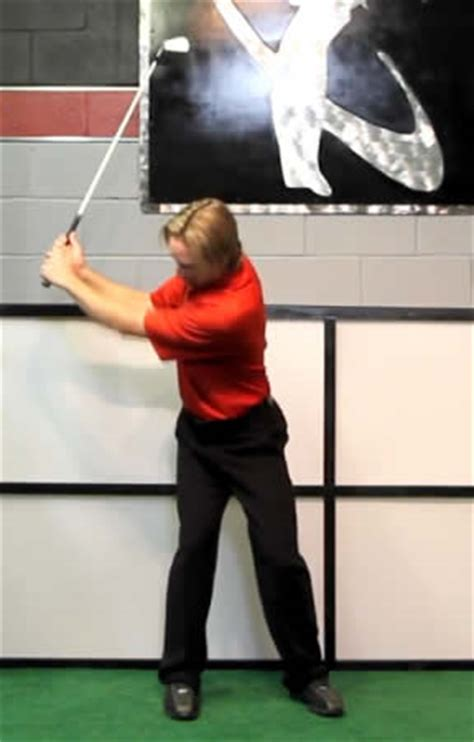 golf rotary swing how to properly load right leg in golf backswing and stop