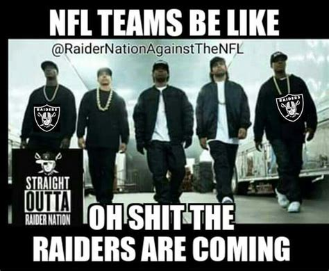 Nfl Memes Raiders - 1748 best raiders images on pinterest raider nation