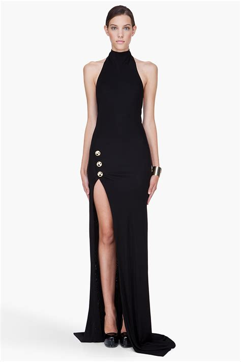 How To Use A Slit L by Black Dress With Slit