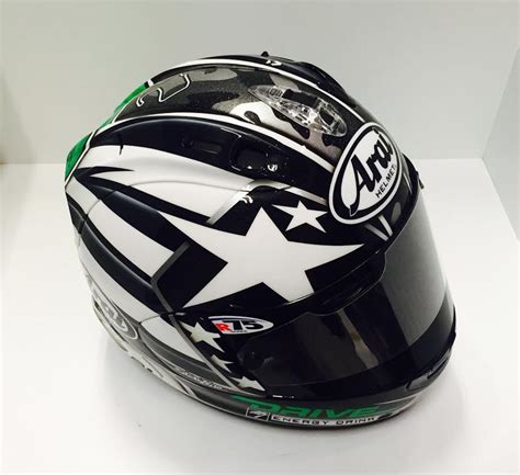 arai rx gp n hayden laguna seca 2013 quot full metal nicky quot by racing helmets garage arai rx 7v n hayden laguna seca